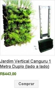 jardim vertical canguru 1 metro duplo
