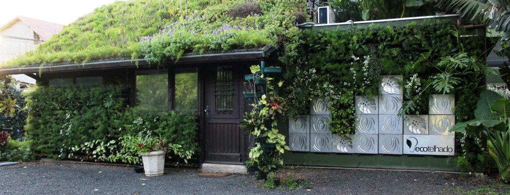 telhado verde jardim vertical casa sustentável casa verde sustentabilidade telhados verdes