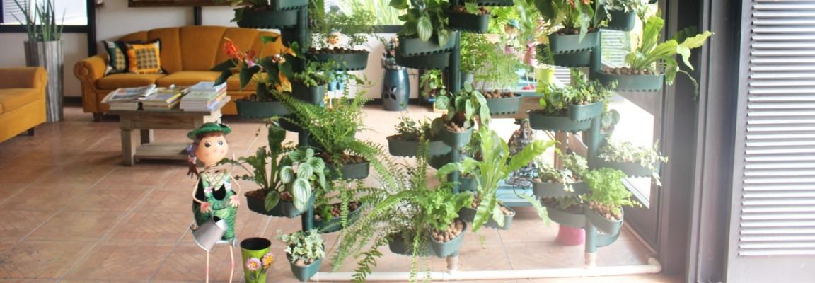 Jardim Vertical Espiral
