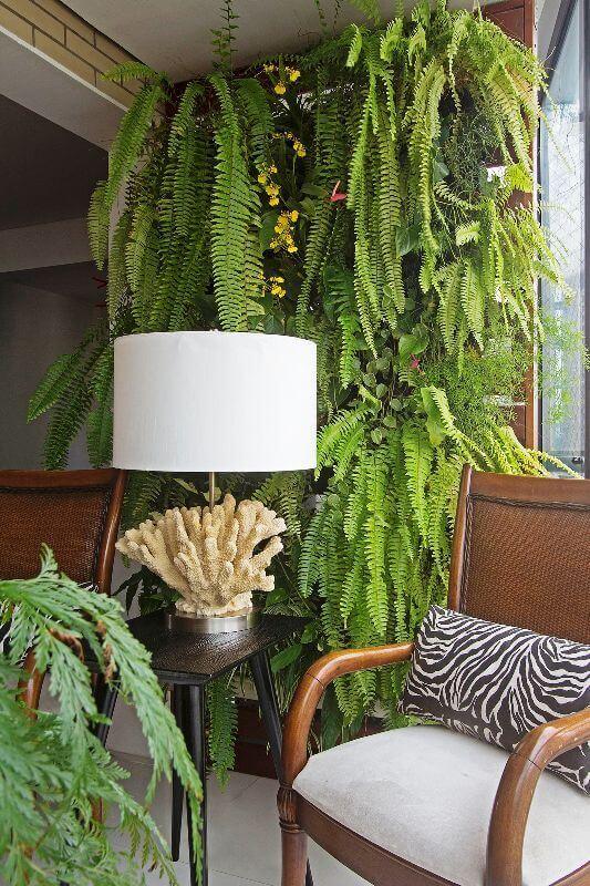 jardim vertical na sala : jardim vertical na sala:Jardim Vertical na sala de casa