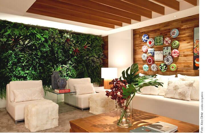 jardim vertical na sala ? Doitri.com