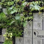 Jardim Vertical decoração casa cor