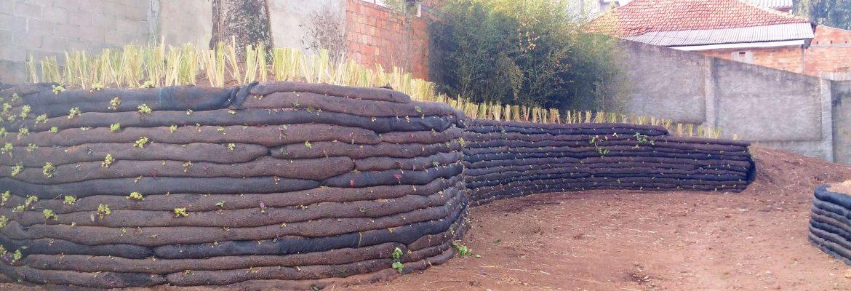 Muro de Contenção | Tipos de Vegetação Muroflex Vegetado
