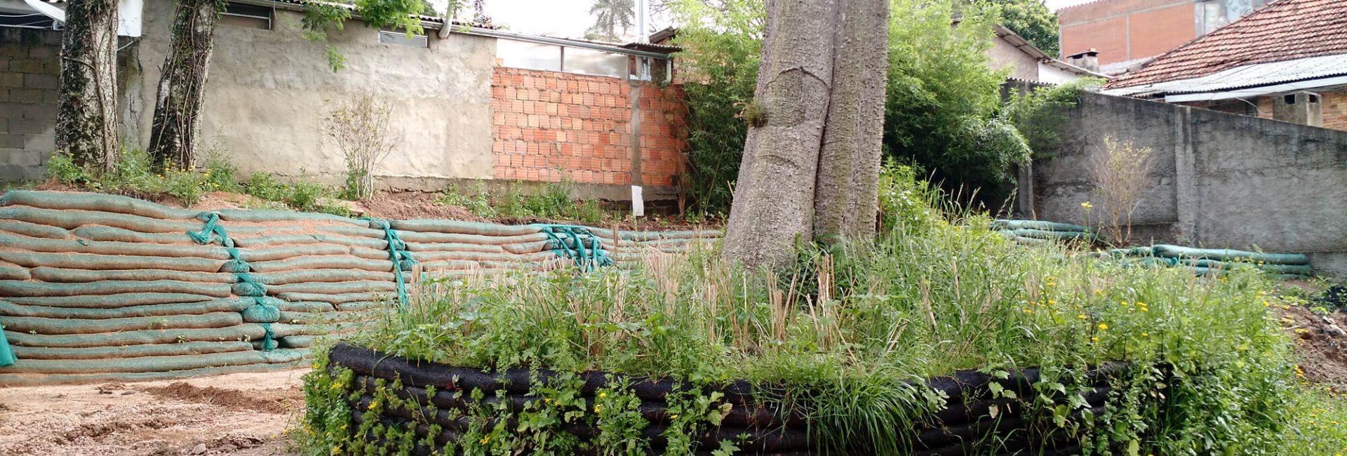 muro de contencao vegetado