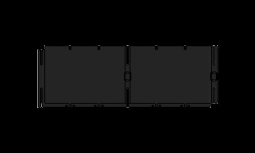 Placa liza Muro De Contenção