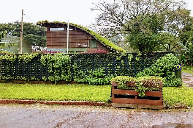 Muro Vegetado com Barreira Acústica Natural 2