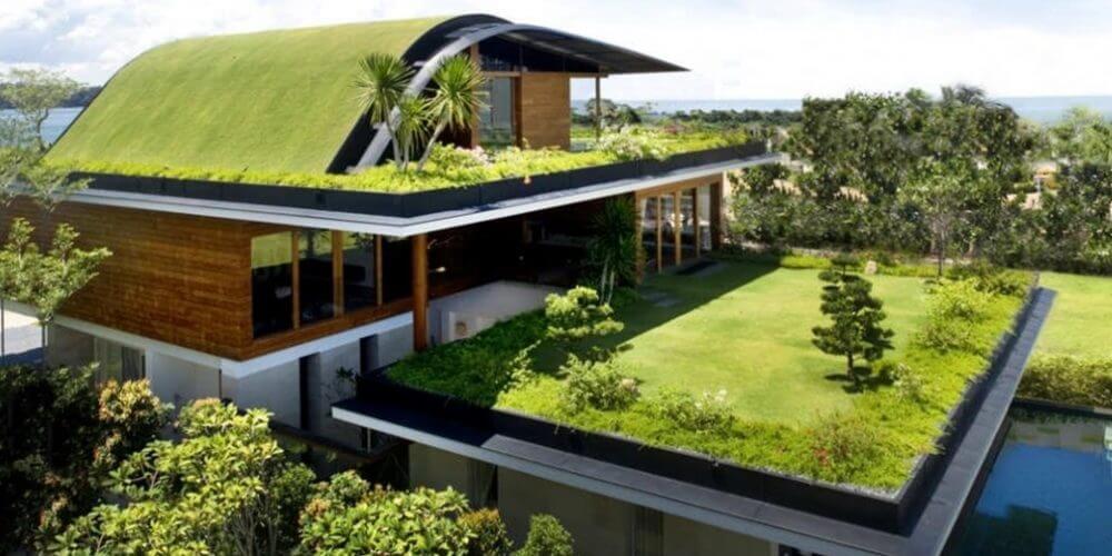 casa projetada conforme conceito de arquitetura biofílica