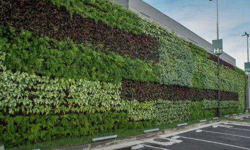 jardim-vertical-ecotelhado-Park Shopping Canoas