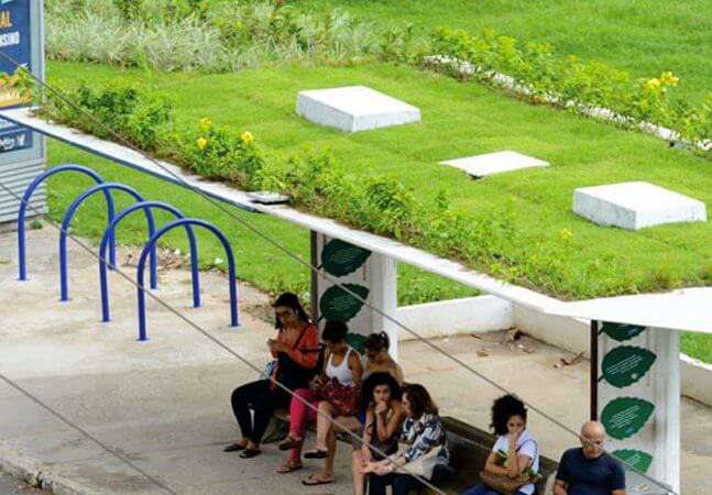 ponto de ônibus - capa