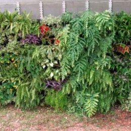 floreira jardim vertical de 8m2