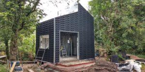 casa feita com conceito de construcao verde
