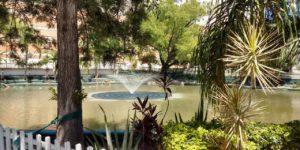 lago com sistema de tratamento de agua da ecotelhado